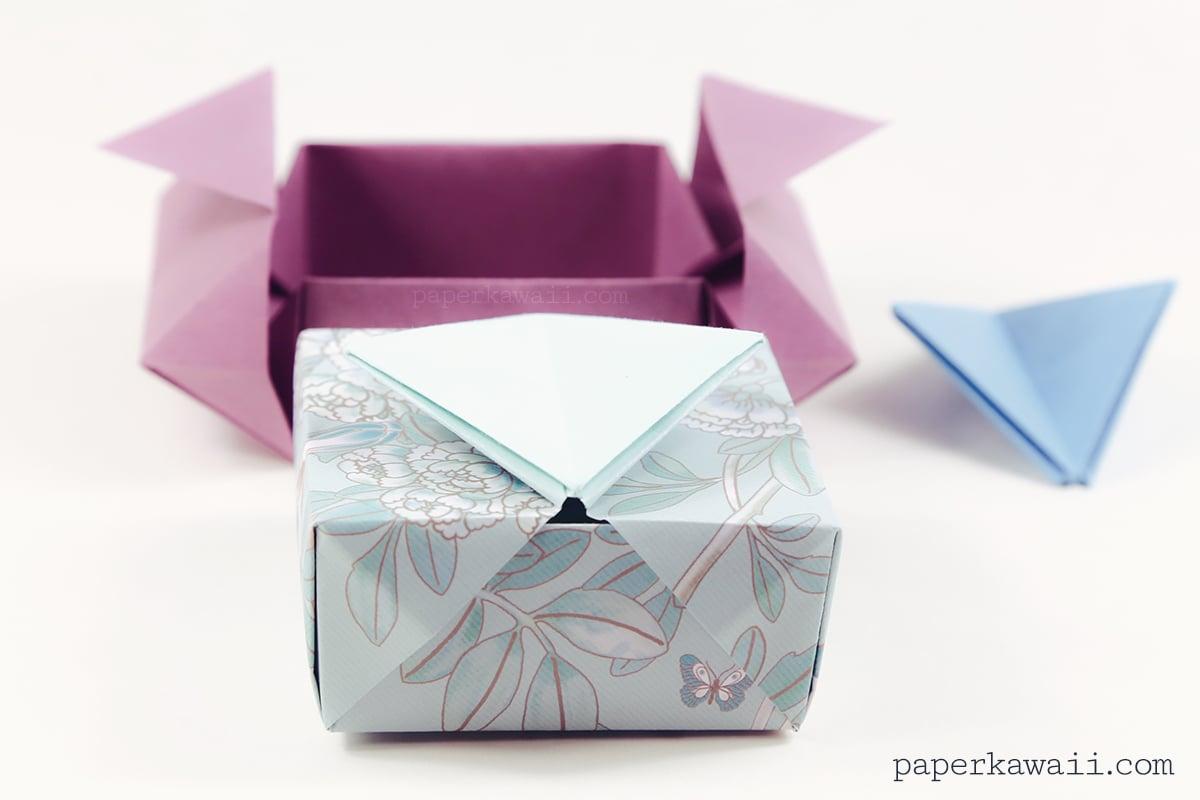 Origami Gatefold Box Instructions - Paper Kawaii - photo#27