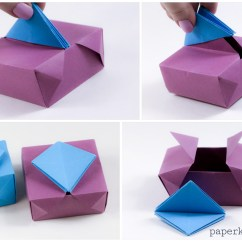 Cool Modular Origami Diagram Jvc Radio Wiring Gatefold Box Instructions Paper Kawaii