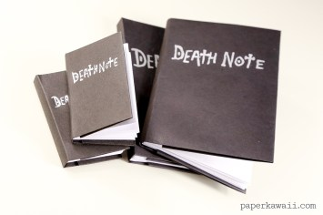Death Note Origami Book Video Instructions via @paper_kawaii