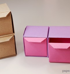 origami box tomoko fuse [ 1200 x 800 Pixel ]