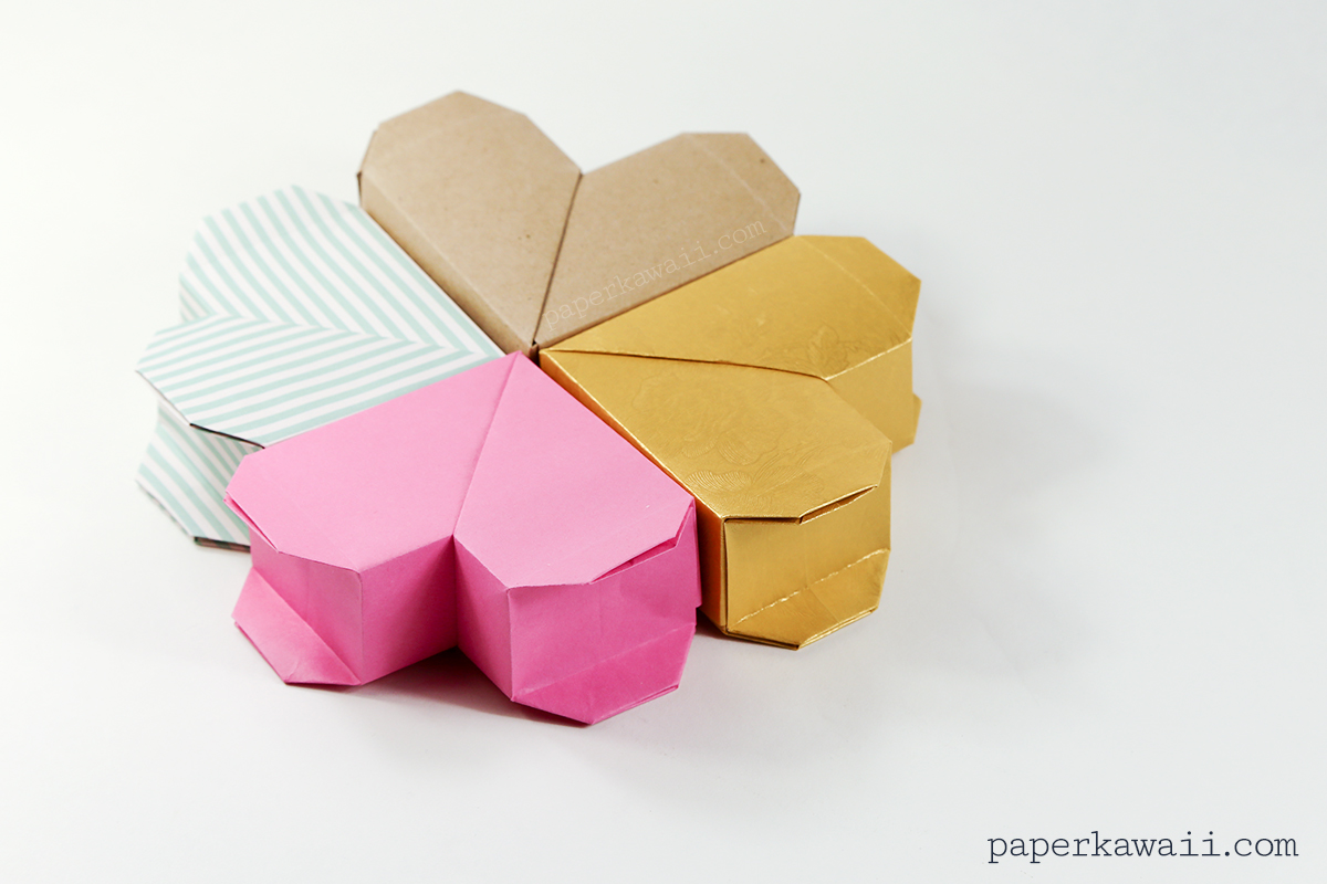 Origami Heart Box Instructions, Origami, Free Engine Image ... - photo#16