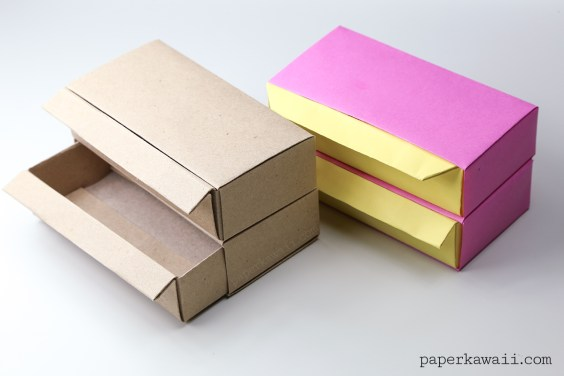 Origami Pull Out Drawers Instructions – Long Version