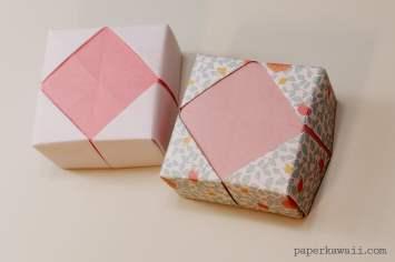 Origami Masu Box Lid Variations via @paper_kawaii