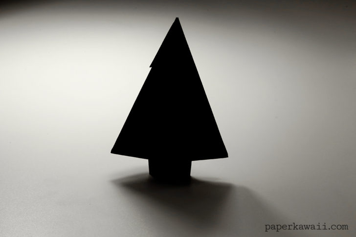 Origami Fir Tree Diagram