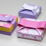 Origami Gift Box – Mix & Match Lids