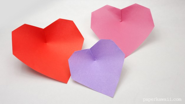 EASY ORIGAMI HEARTS - THREE DIFFERENT WAYS. — Gathering Beauty | 353x627