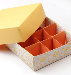 learn how to make rectangular origami gift boxes origami box giftbox papercrafts [ 1920 x 1080 Pixel ]