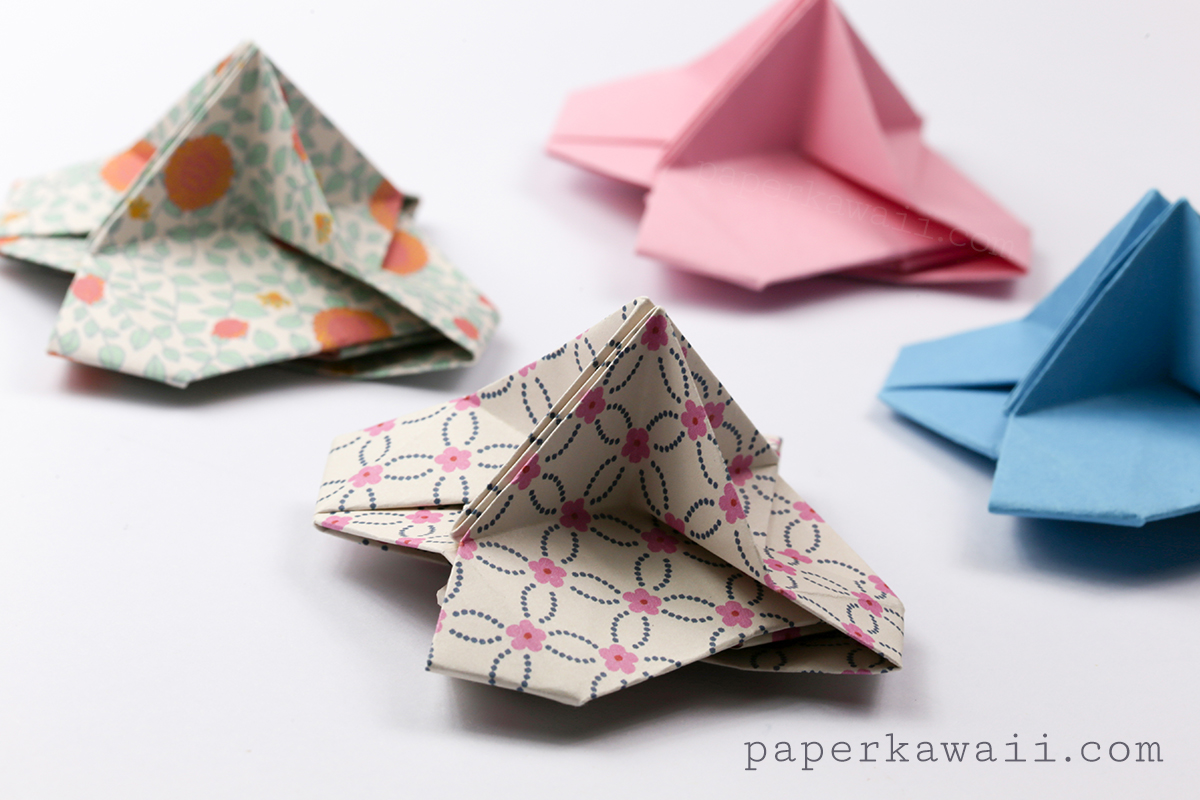Origami Card Holder Instructions - Paper Kawaii - photo#27