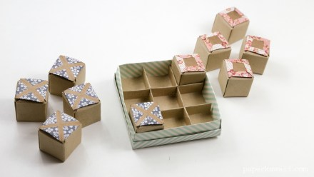 Origami Tic-Tac-Toe Game Instructions
