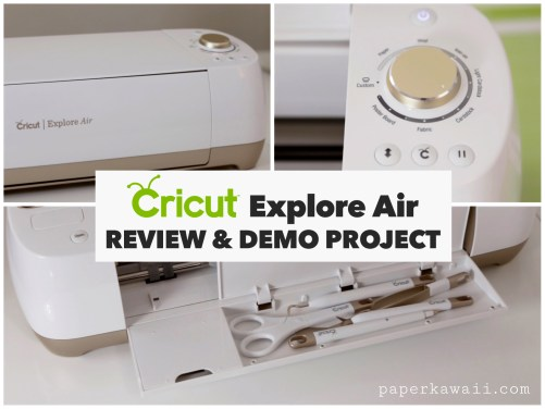 Cricut Explore Air Review & Demo Card DIY