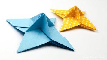 Origami Ninja Star Place Card Holder