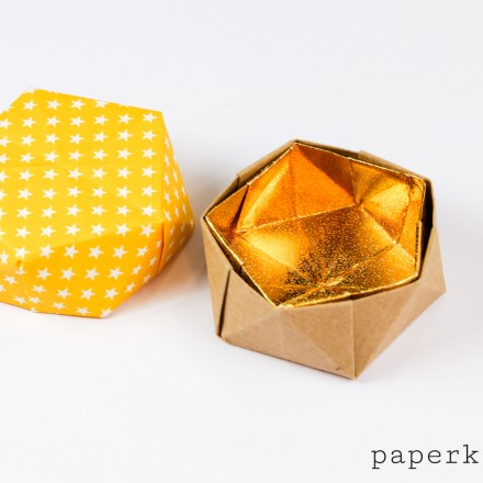 Geometric Origami Pot Instructions