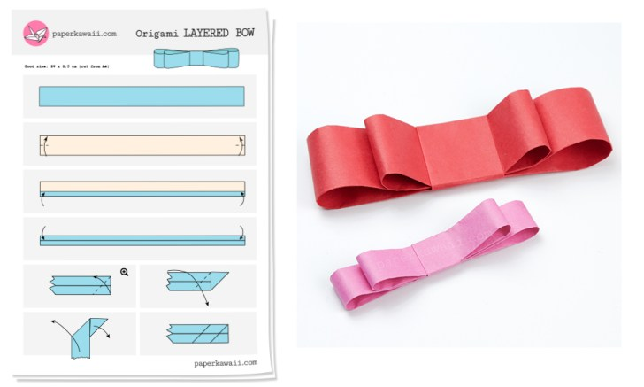 origami-layered-bow-diagram-paper-kawaii