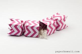 Origami Candy Box - Opening Version Tutorial via @paper_kawaii
