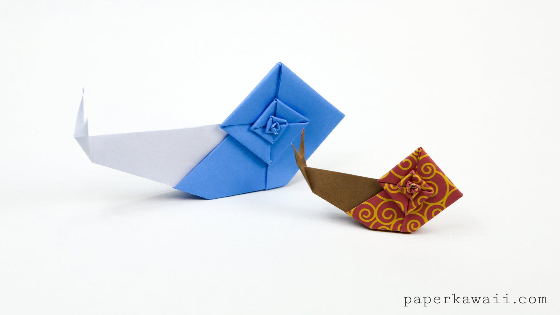 Origami Sea Creatures | 1080x1920