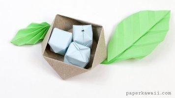 the-origami-garden-ioana-stoian-eggs-nest-leaves