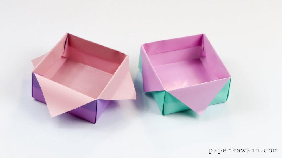 Origami Masu Box Star Variation Tutorial via @paper_kawaii