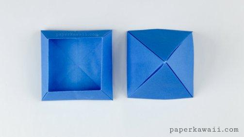 Origami Pyramid Box Instructions via @paper_kawaii