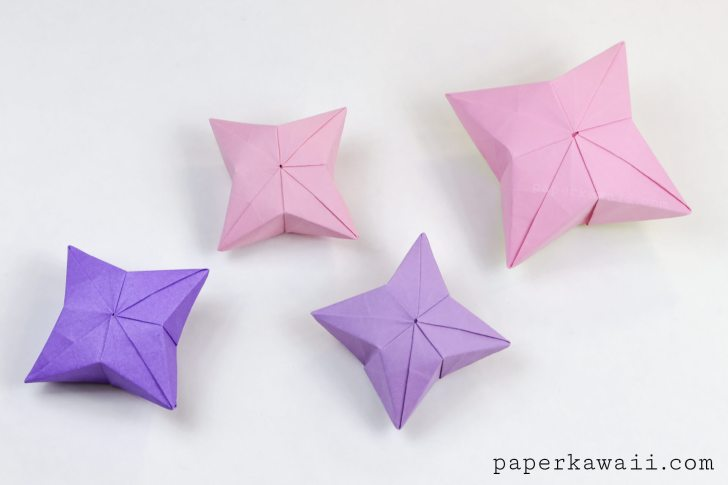 Making 3D paper doll (English Rose) using kusudama folding ... | 485x728