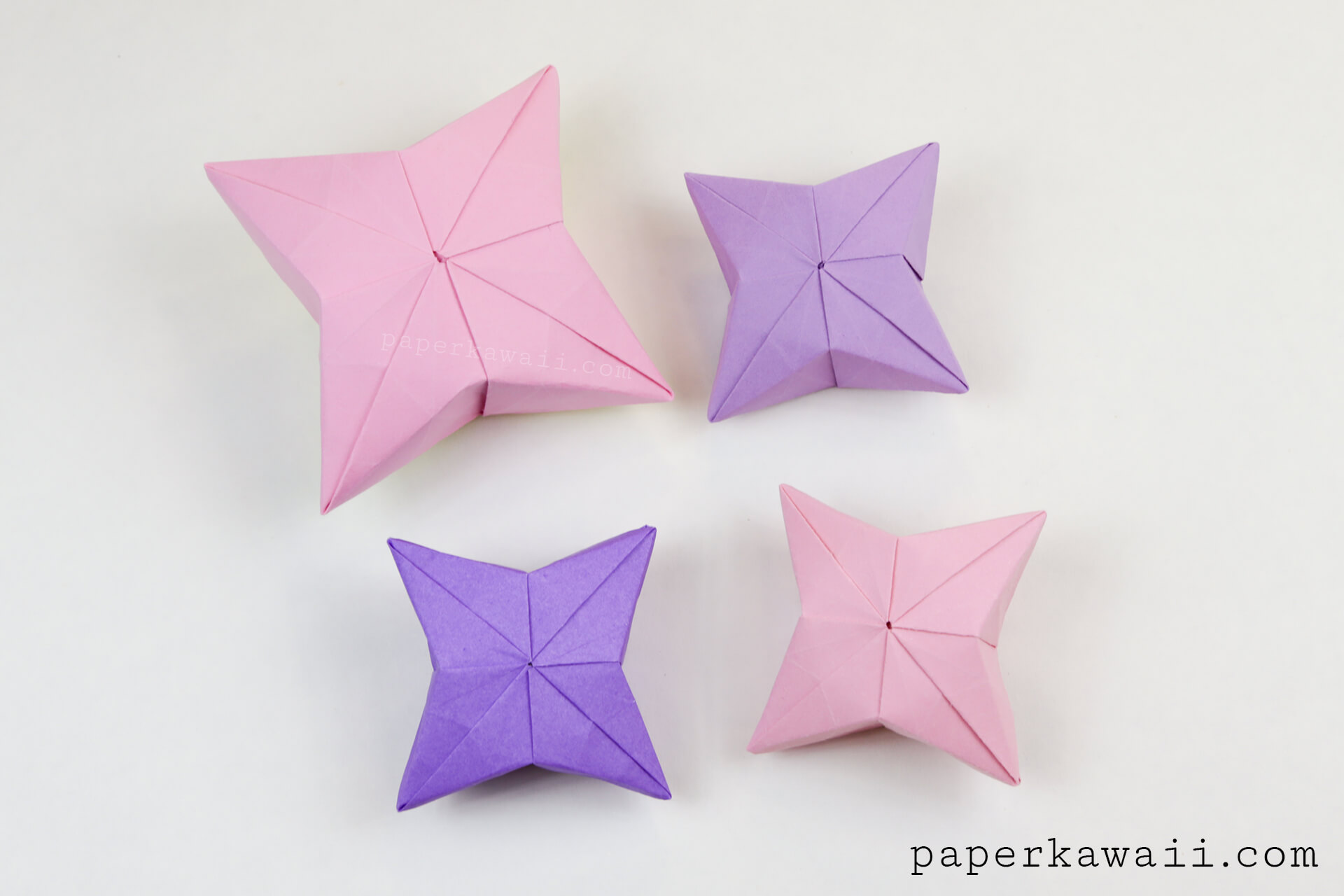 How to make a 3D paper star | Easy origami stars for beginners ... | 1280x1920