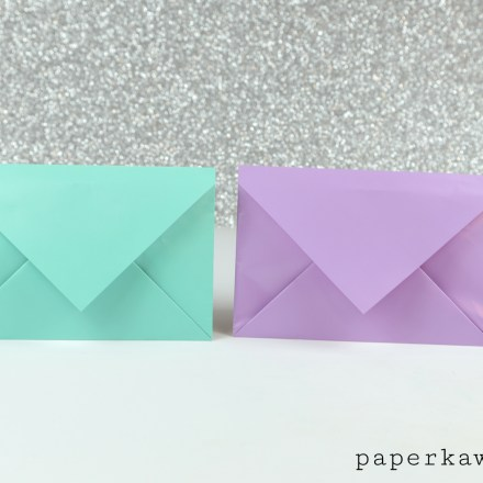 Origami Heart Envelope Video Tutorial via @paper_kawaii