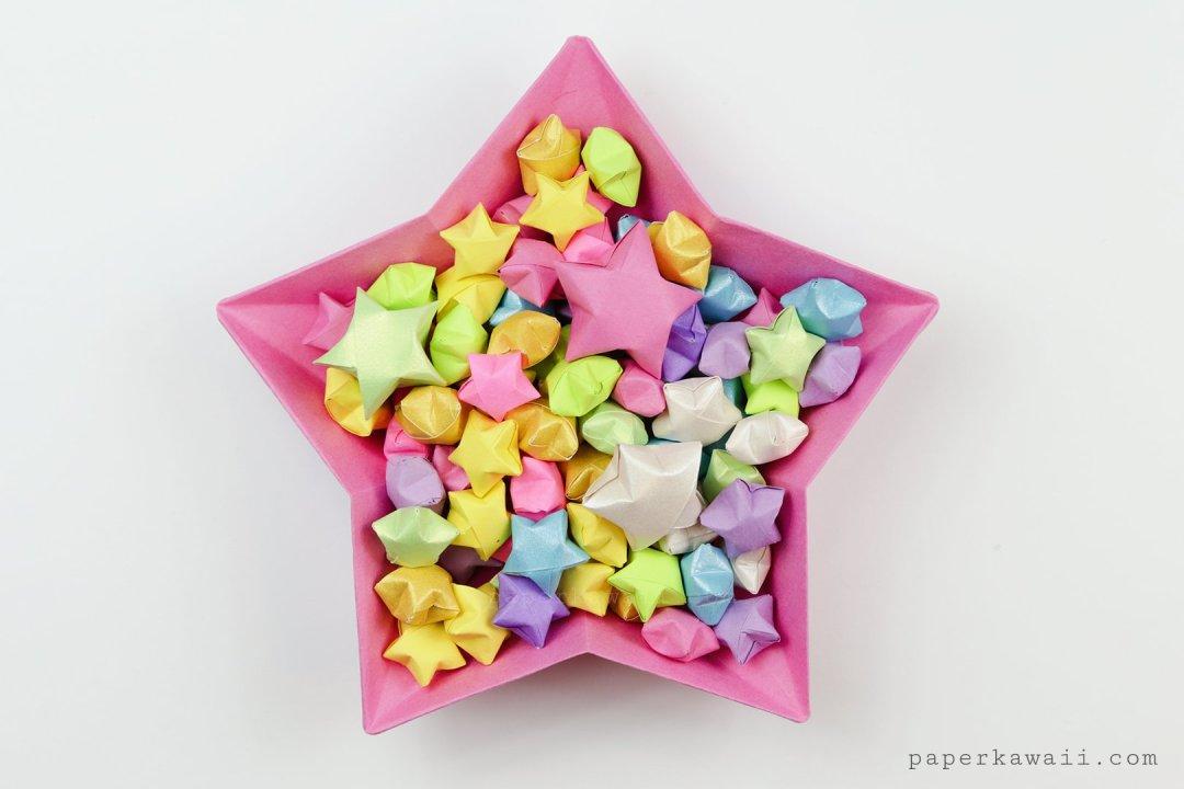 Origami Lucky Stars Tutorial