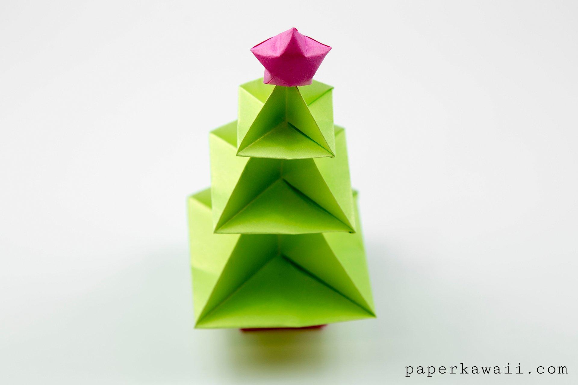 Origami Christmas Tree   Origami christmas tree, Christmas origami ...   1280x1920