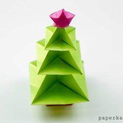 Christmas Origami Diagram 2004 Dodge Durango Stereo Wiring Tree Tutorial Paper Kawaii