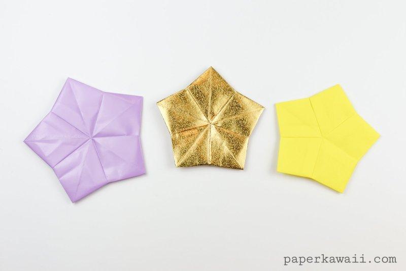 5 Point Origami Star Coaster / Tato Tutorial