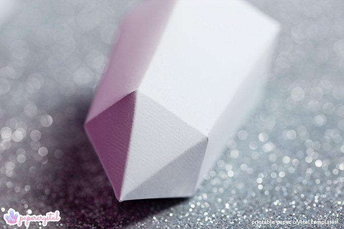 paper-crystal-printable-gem-templates-warped-bipyramid-bokeh