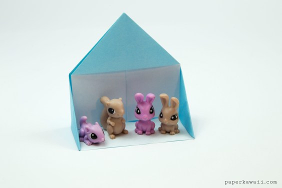 Easy Origami Dollhouse Tutorial – DIY Paper House!