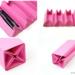 Origami Accordion Box Tutorial – DIY Roll Up Box
