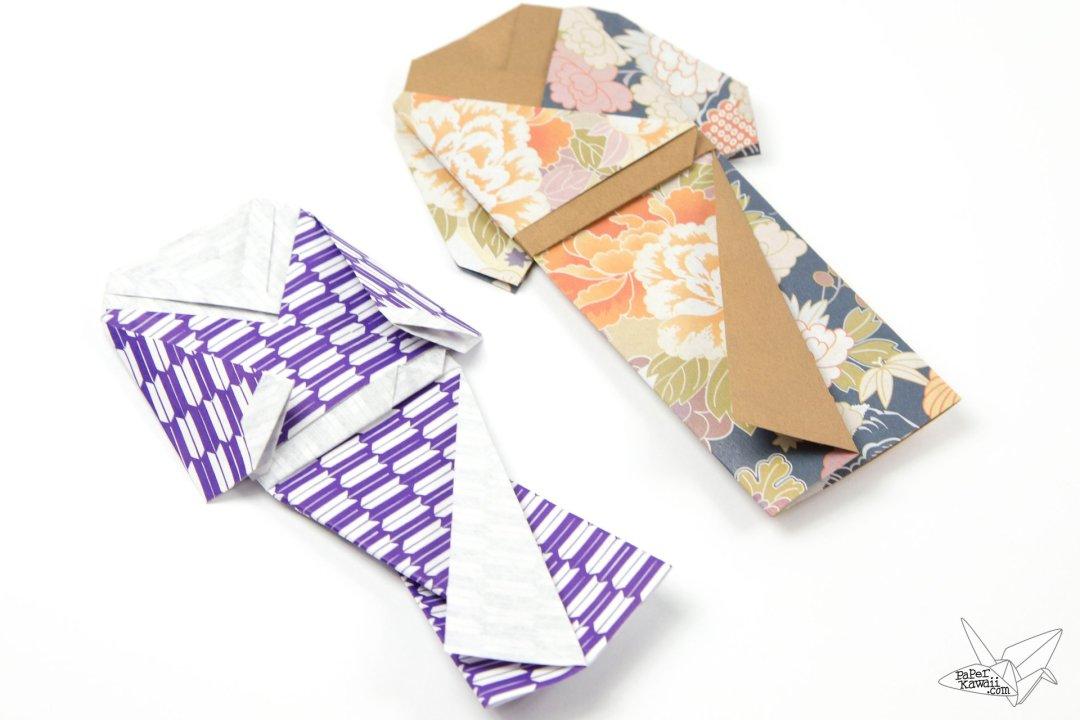 Origami Kimono Dress Tutorial