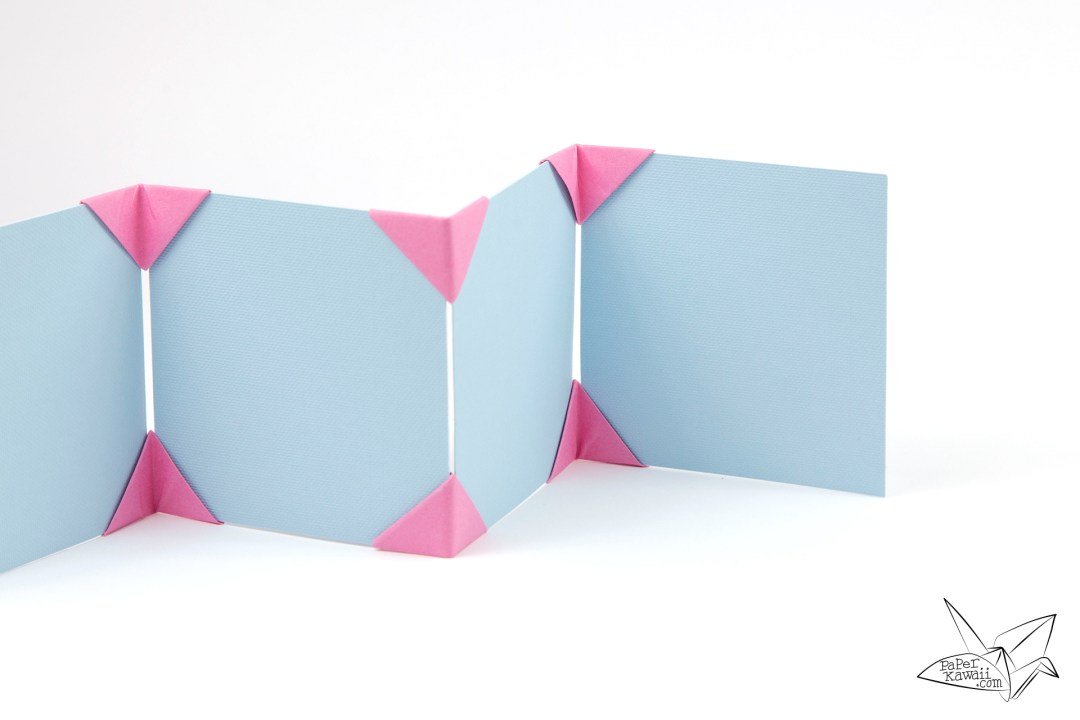 Origami Photo Frame Tutorial - Make a Photo Display!