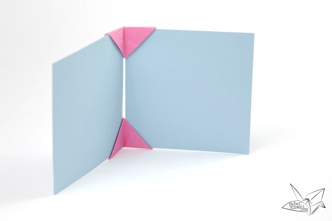 Origami Photo Frame Tutorial - Make a Photo Display!