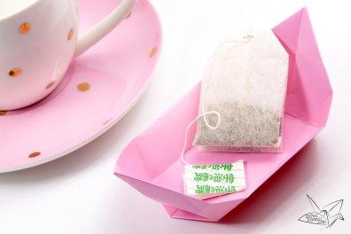 Traditional Origami Tea Plate Tutorial