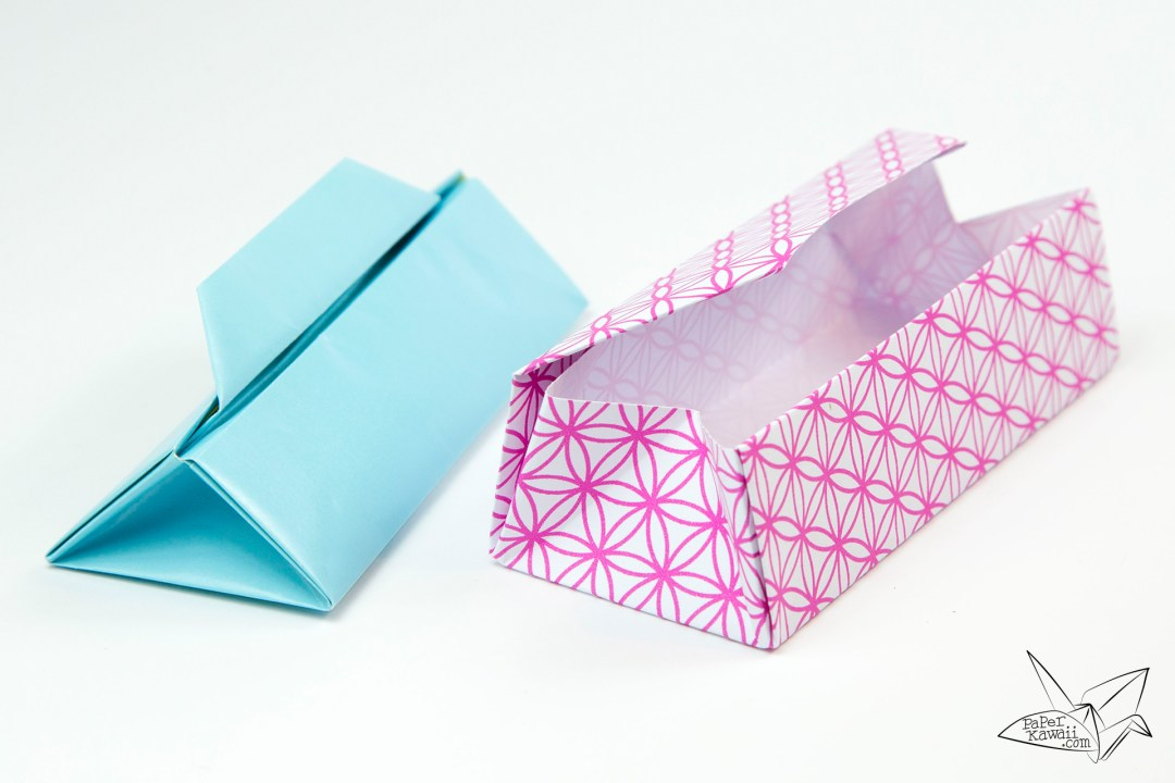 Triangular Origami Box Tutorial - Gift Box