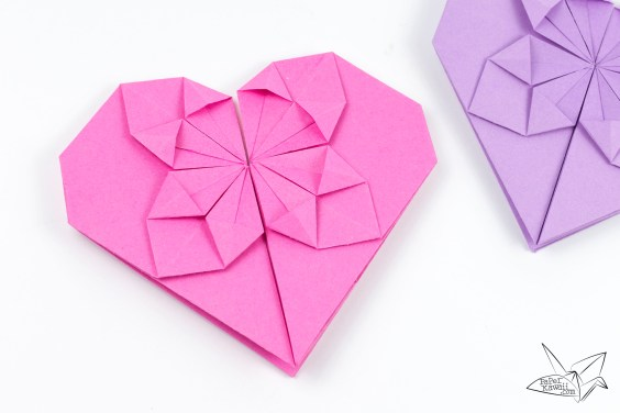 Money Origami Heart Tutorial