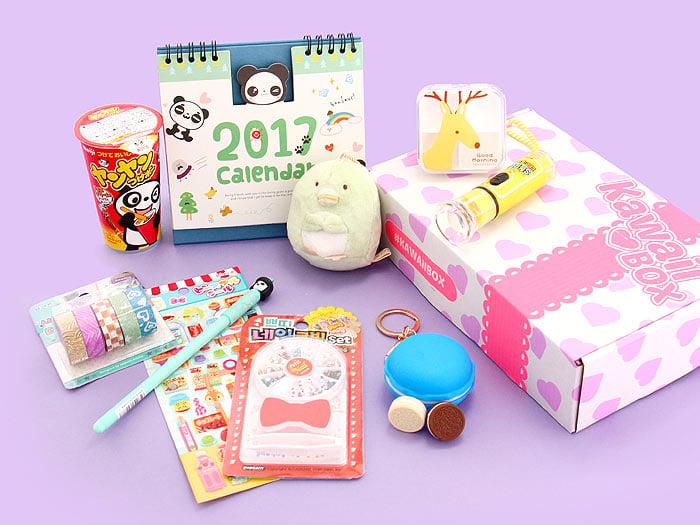 [ENDED] Kawaii Box Giveaway - Win Cute Items from Japan & Korea! via @paper_kawaii