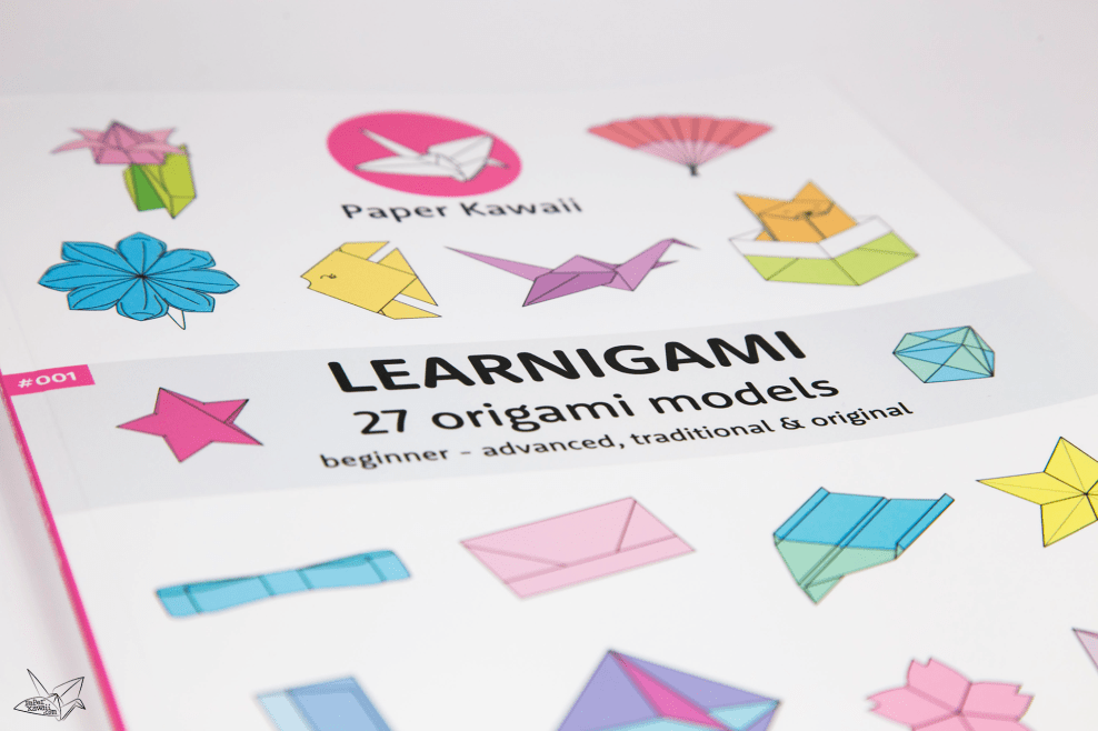 LEARNIGAMI - Spring 2017 - 27 Fun Origami Models - PDF Ebook & Printed via @paper_kawaii