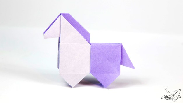 Origami Horse Tutorial – Cute Origami Pony!