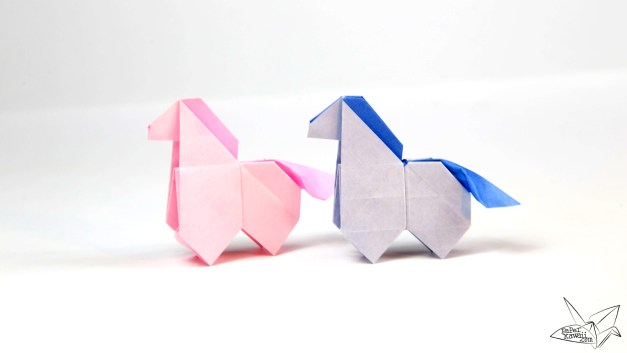 Origami Horse Tutorial – Version 2 – Origami Pony