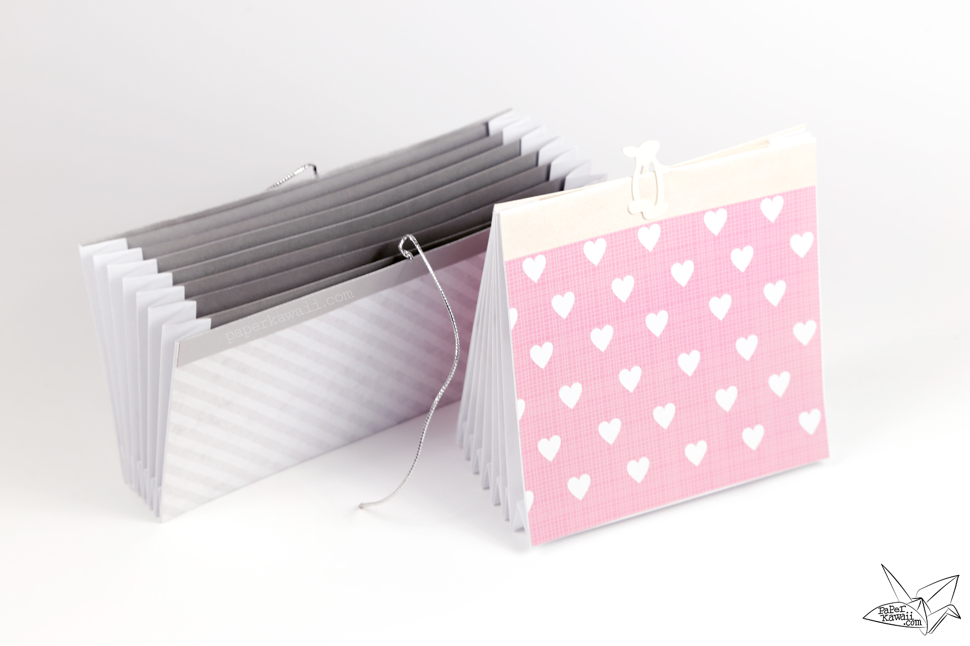 origami accordion document folder tutorial - Accordion Folder