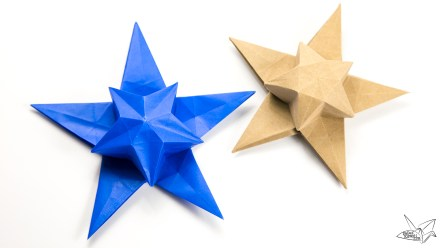 Origami Star Puff Tutorial – Philip Chapman-Bell