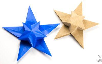 Origami Star Puff Tutorial – Philip Chapman-Bell