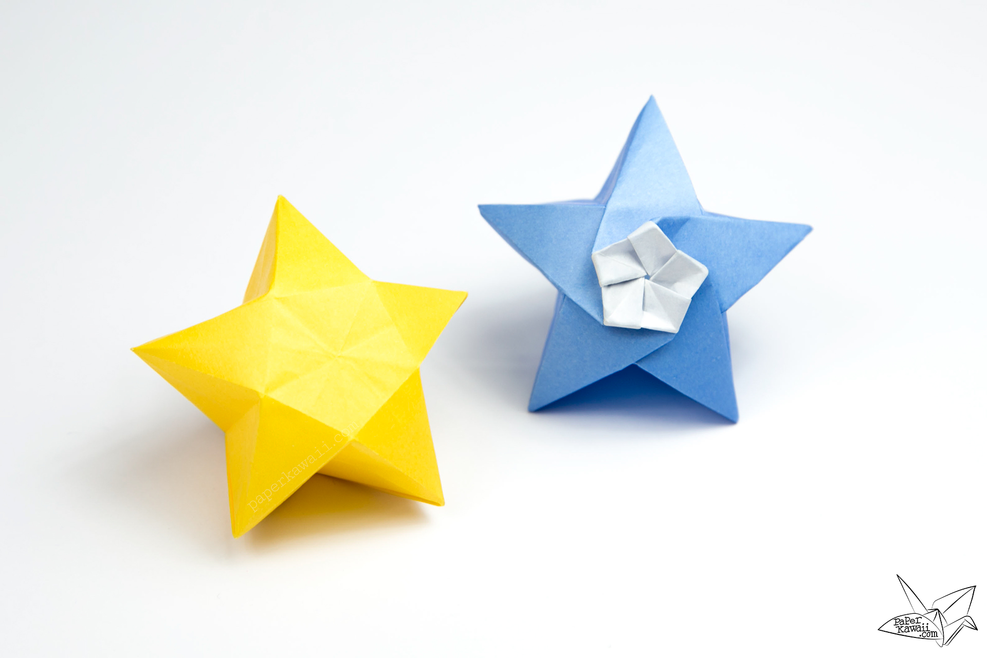 How to Make a Traditional Origami Star Box | 1280x1920
