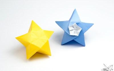 Origami Twinkle Star Tutorial – Puffy Stars