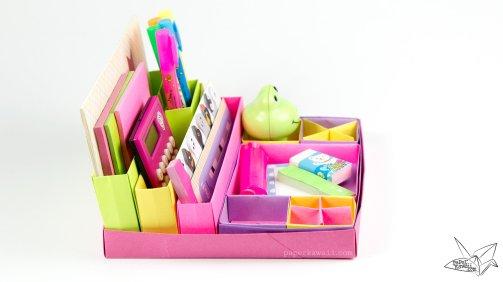 origami-desk-organiser-tutorial-paper-kawaii-03