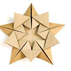 Christmas Origami Diagram Phone Connector Wiring 39star Within 39 Tutorial Ali Bahmani Paper Kawaii