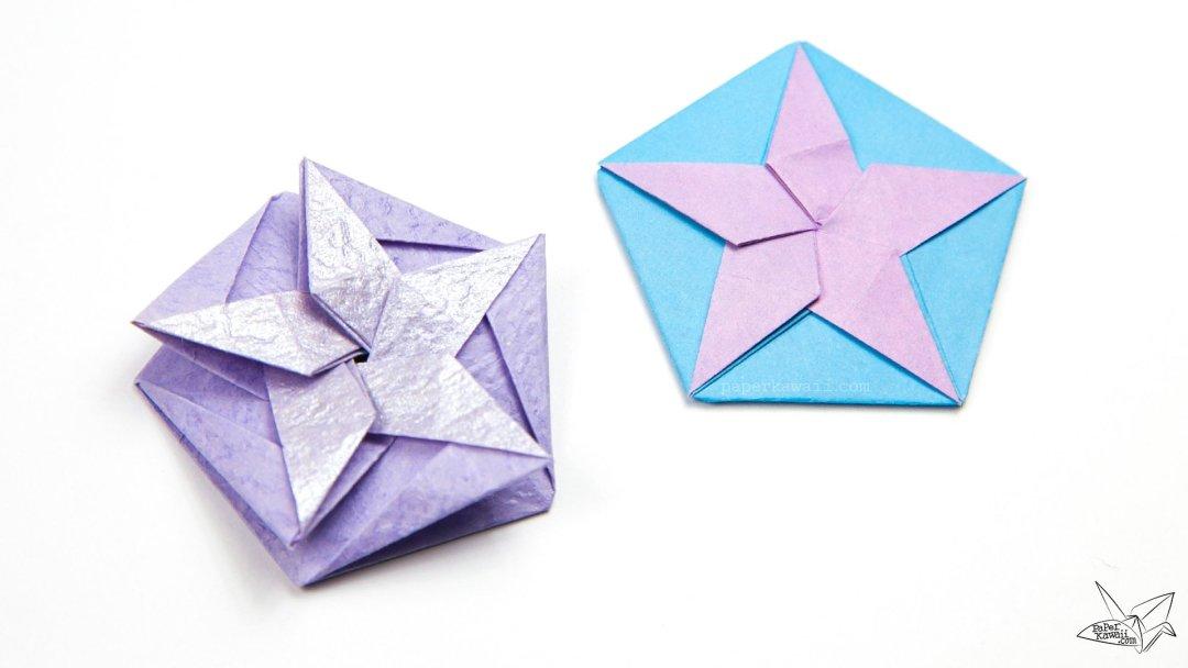 Origami White Star Tato Tutorial - Philip Chapman-Bell via @paper_kawaii